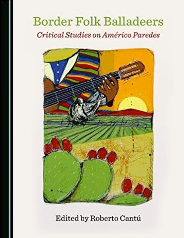 "Book cover for ""Border Folk Balladeers"""