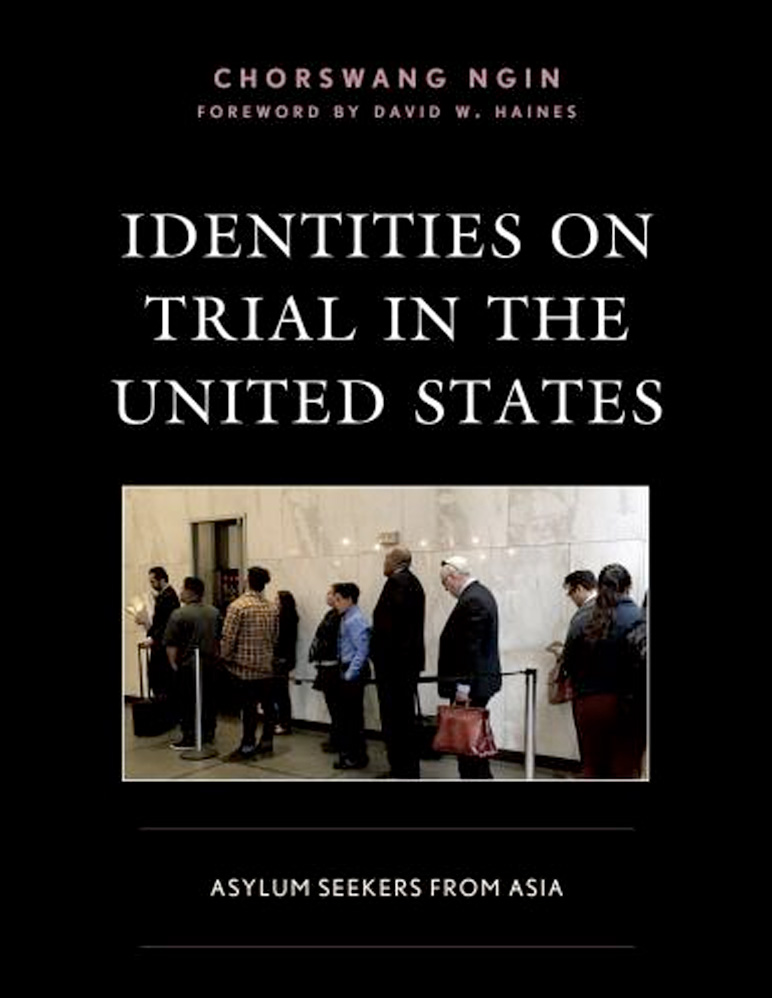 """Book cover for """"Identities on the Trial in the United States"""""""