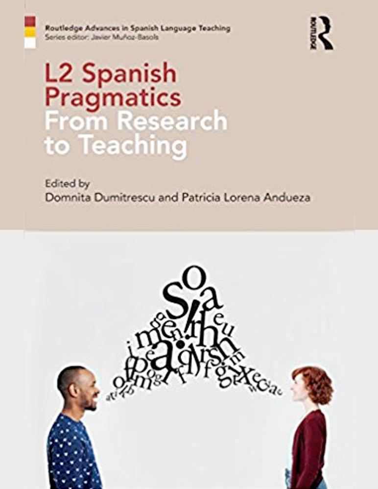 "Book cover for ""L2 Spanish Pragmatics"""