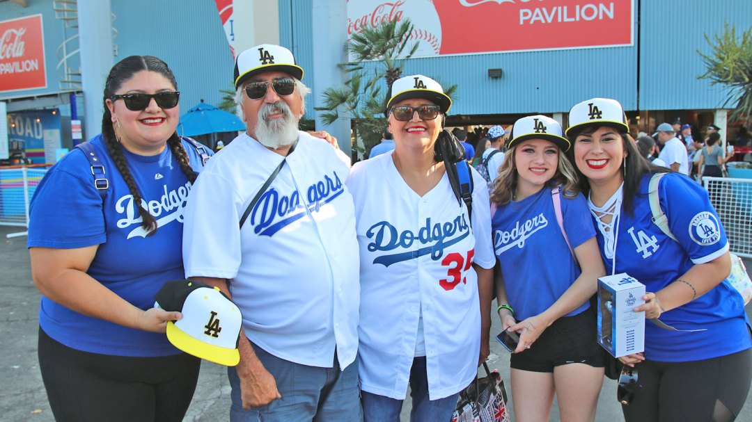 Cal State LA Alumni at Dodger Night