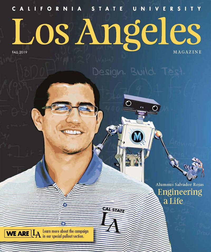 Cal State LA Magazine Fall 2019 magazine cover
