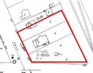 Historical Map Reveals A Previously Unknown Gas Station On Property