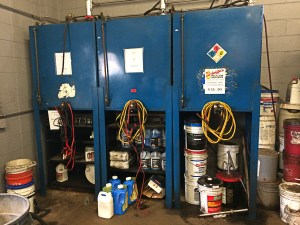 Lube Oil Storage Tanks and Dispensers