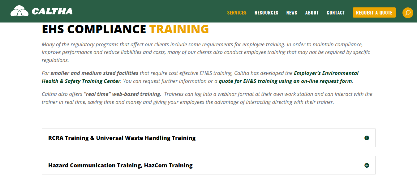 Minnesota Hazardous Waste Hazardous Material Certification Training