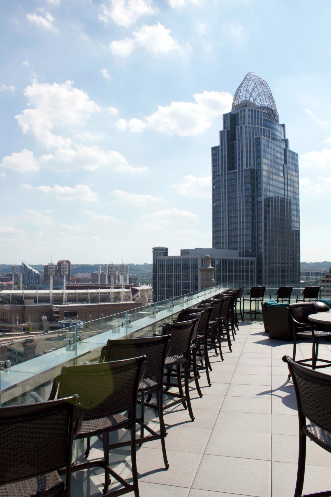 21c Rooftop Bar Cincinnati