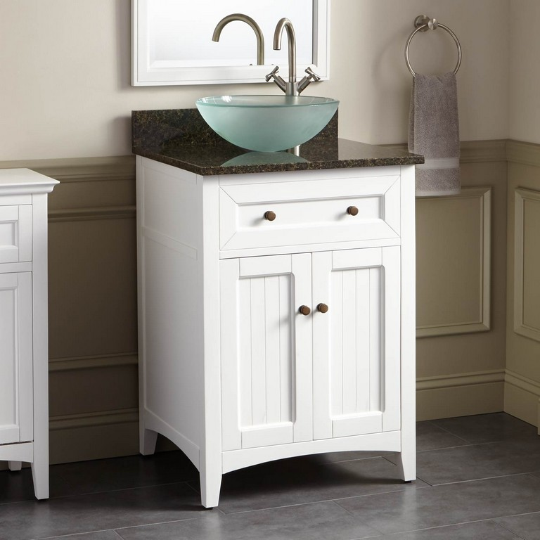 24 Inch Bathroom Vanity With Vessel Sink