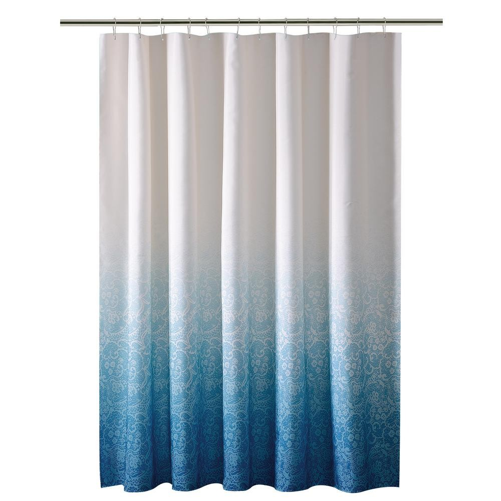 76 Inch Long Shower Curtain