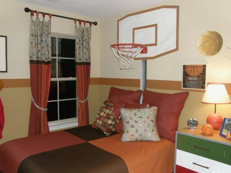 Basketball Decorations For Bedrooms