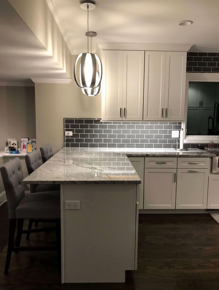 Different Ways To Paint Kitchen Cabinets