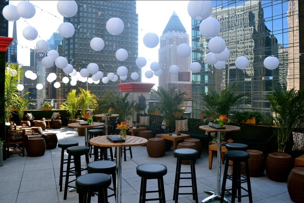Dream Hotel Nyc Rooftop