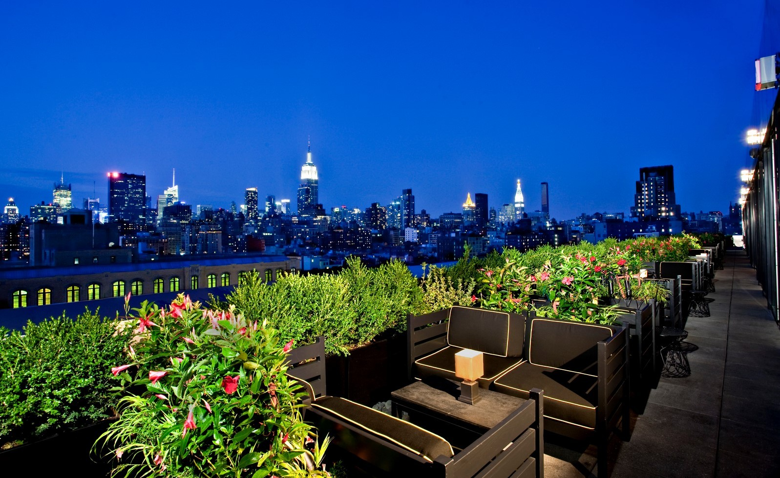Dream Hotel Rooftop Bar