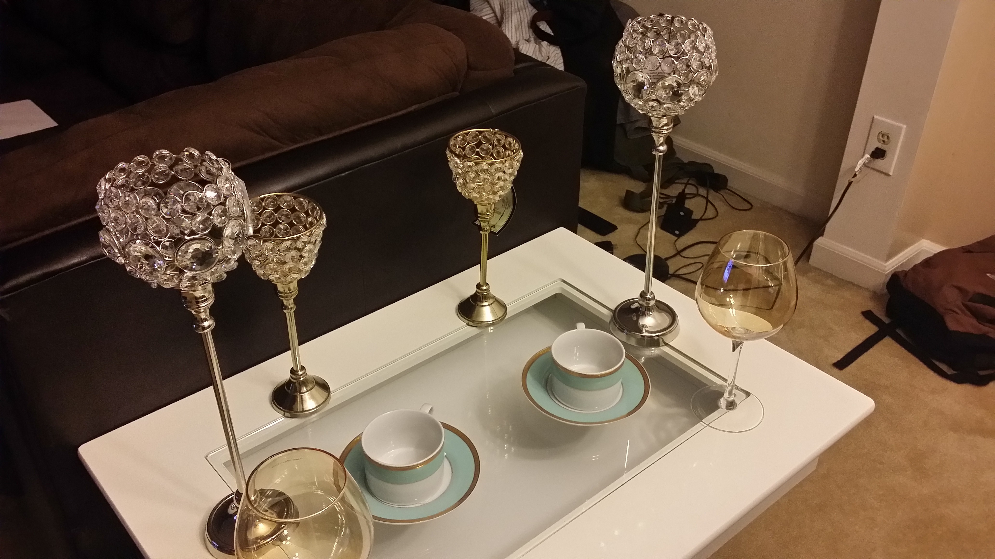 Home Goods Candle Holders