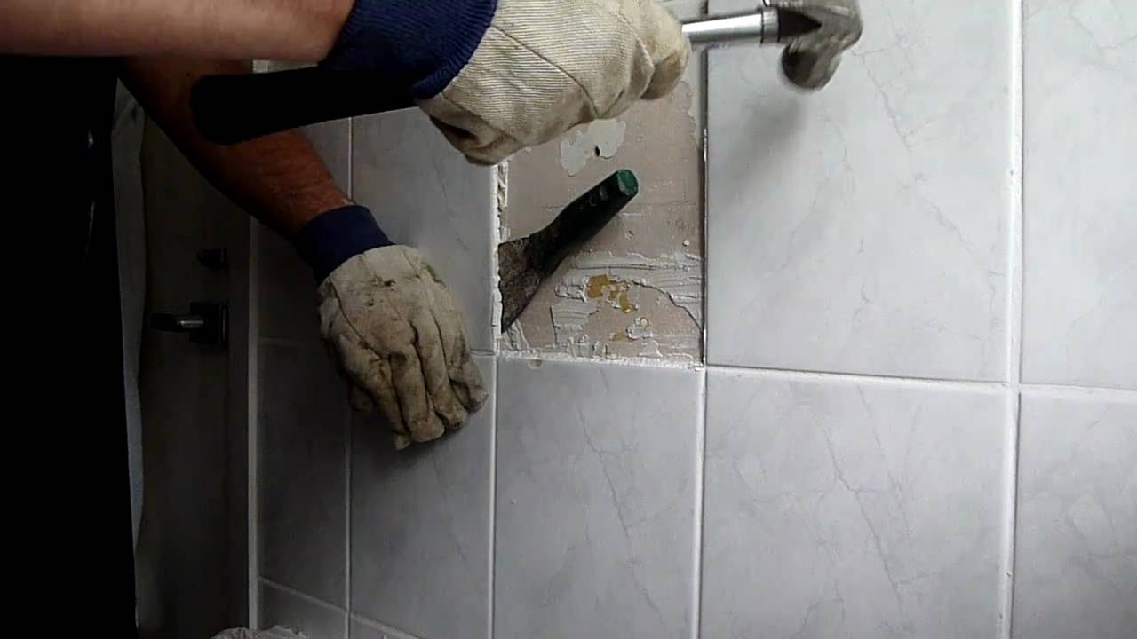 How To Remove Ceramic Wall Tile