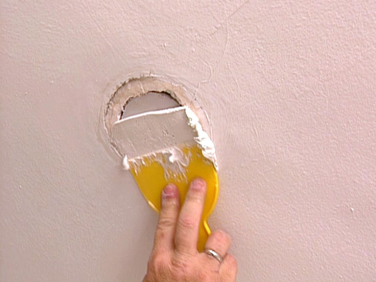 How To Repair Hole In Ceiling Drywall
