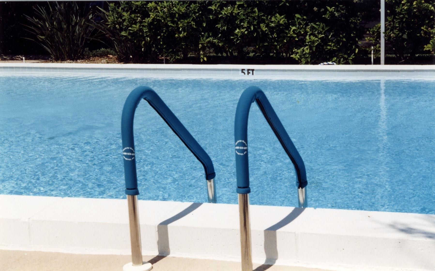 Inground Pool Handrail
