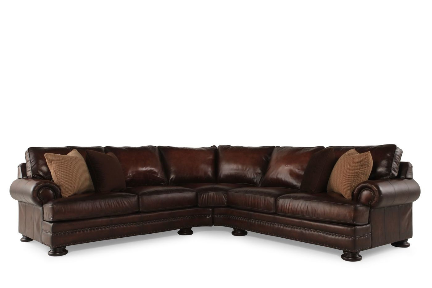 Mathis Brothers Leather Sofas
