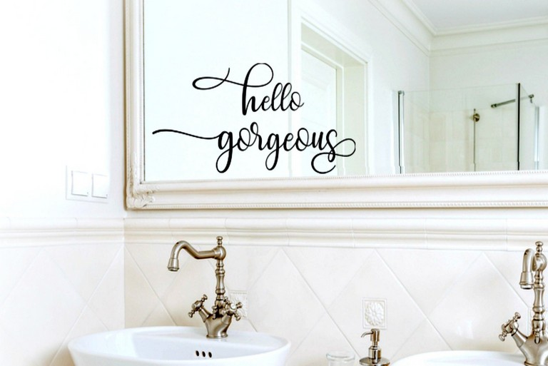 Mirror Decals For Bathrooms