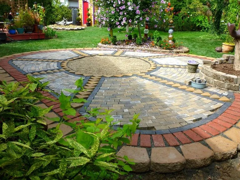 Paver Ideas For Small Backyards