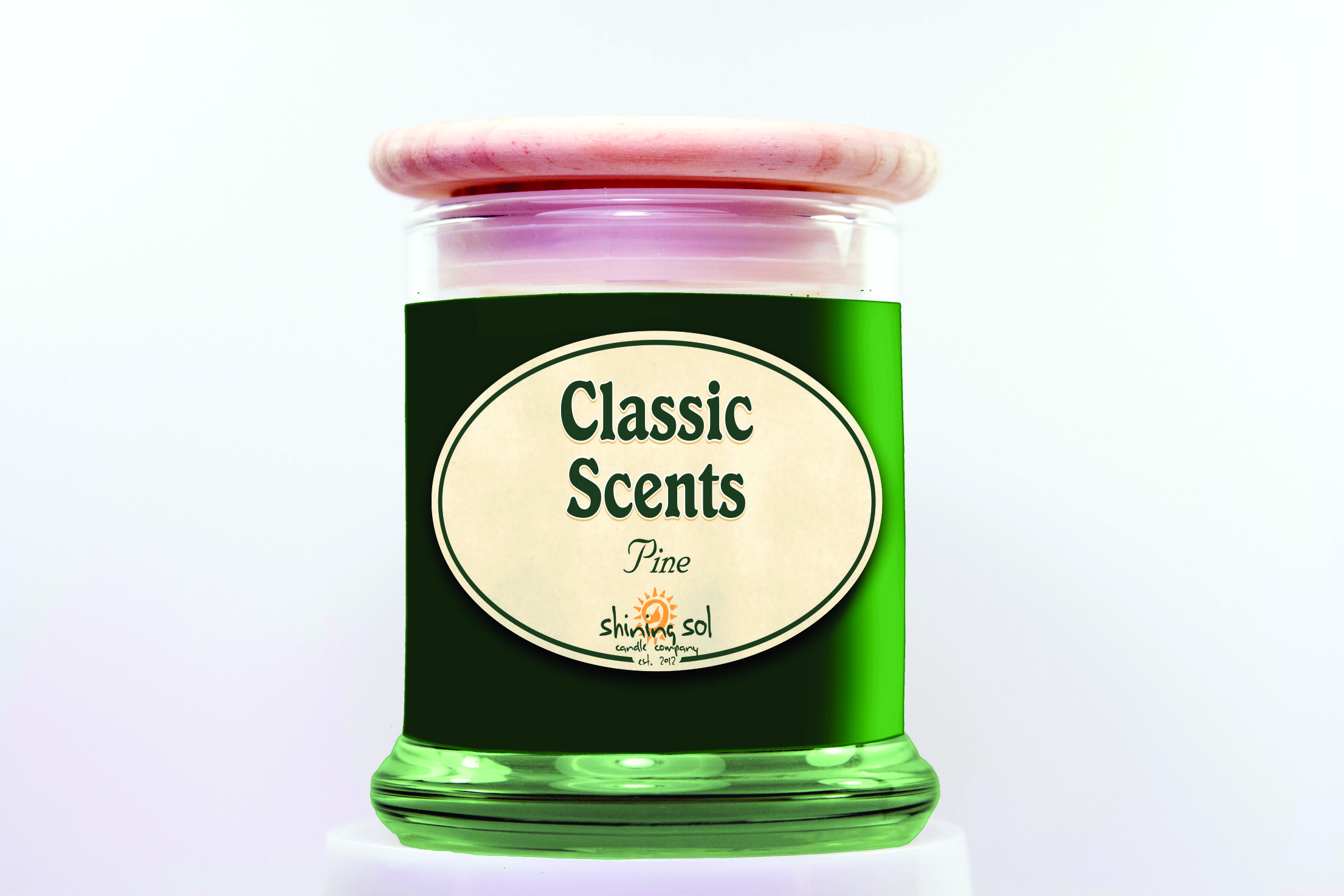 Pine Sol Candle