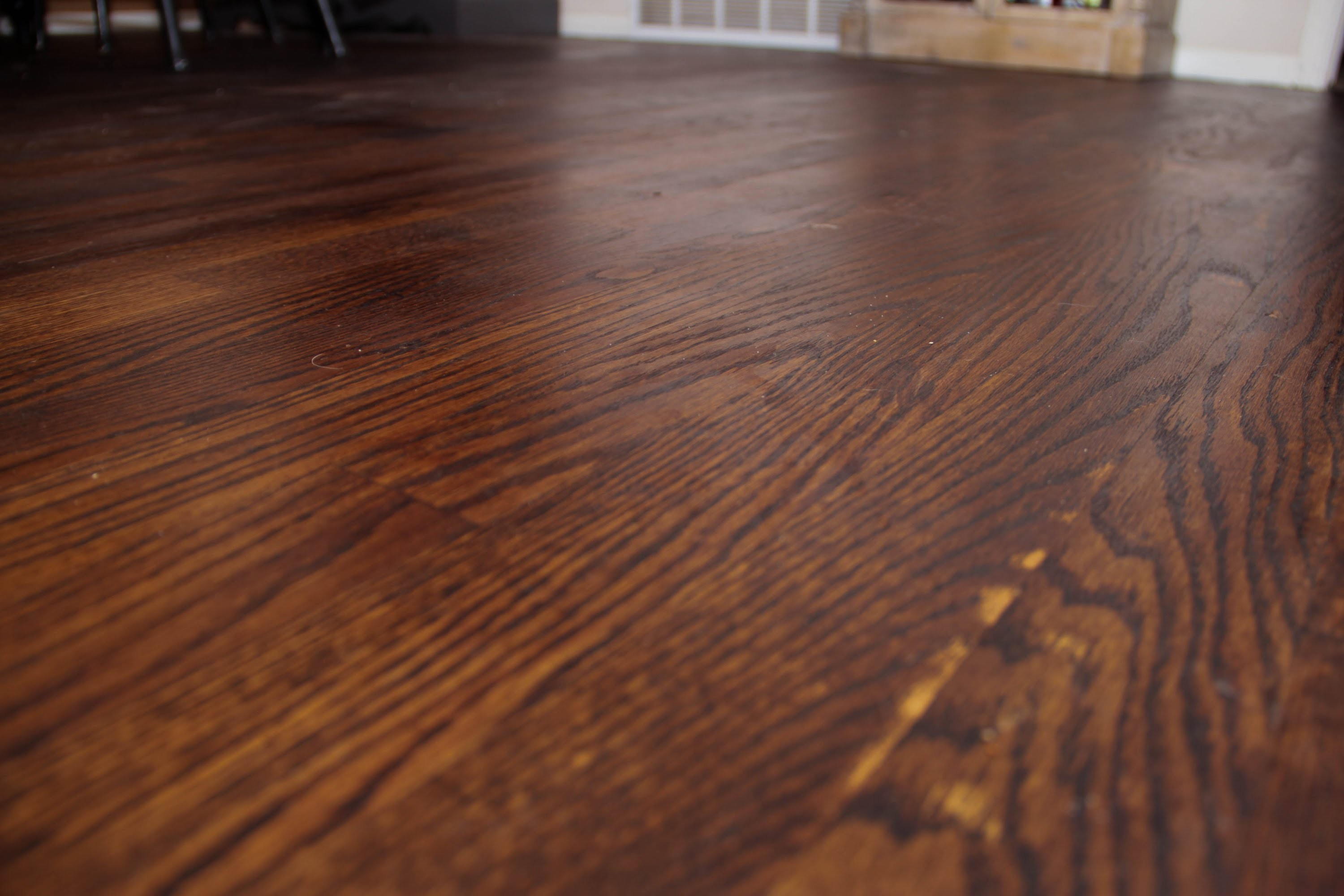 Restaining Hardwood Floors Darker