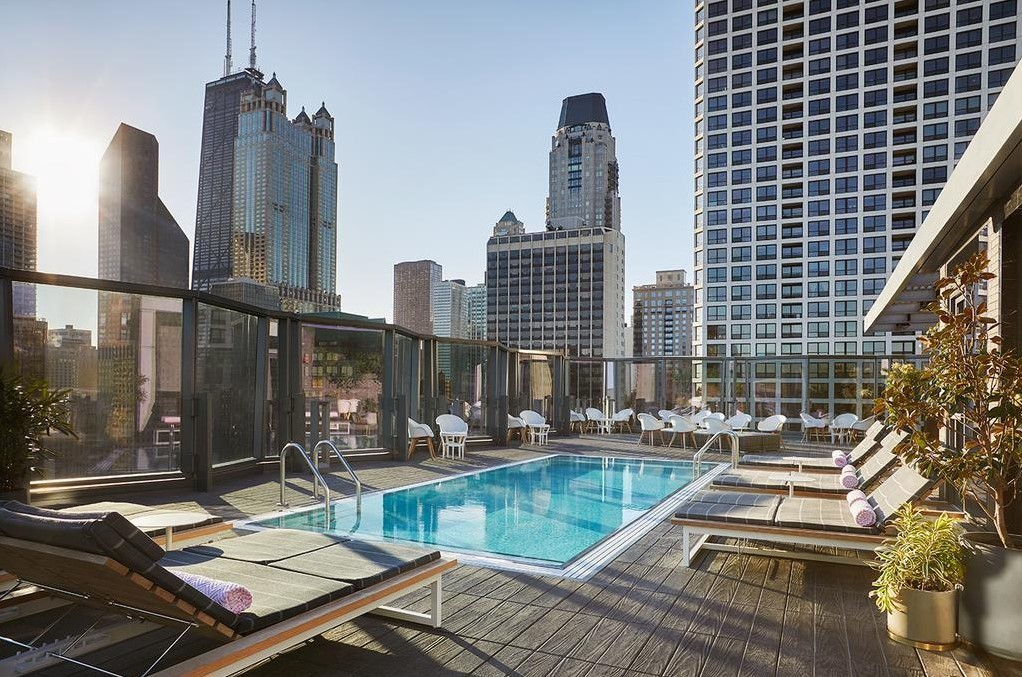 Rooftop Pool Chicago