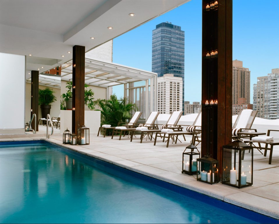 Rooftop Pool Hotels Nyc