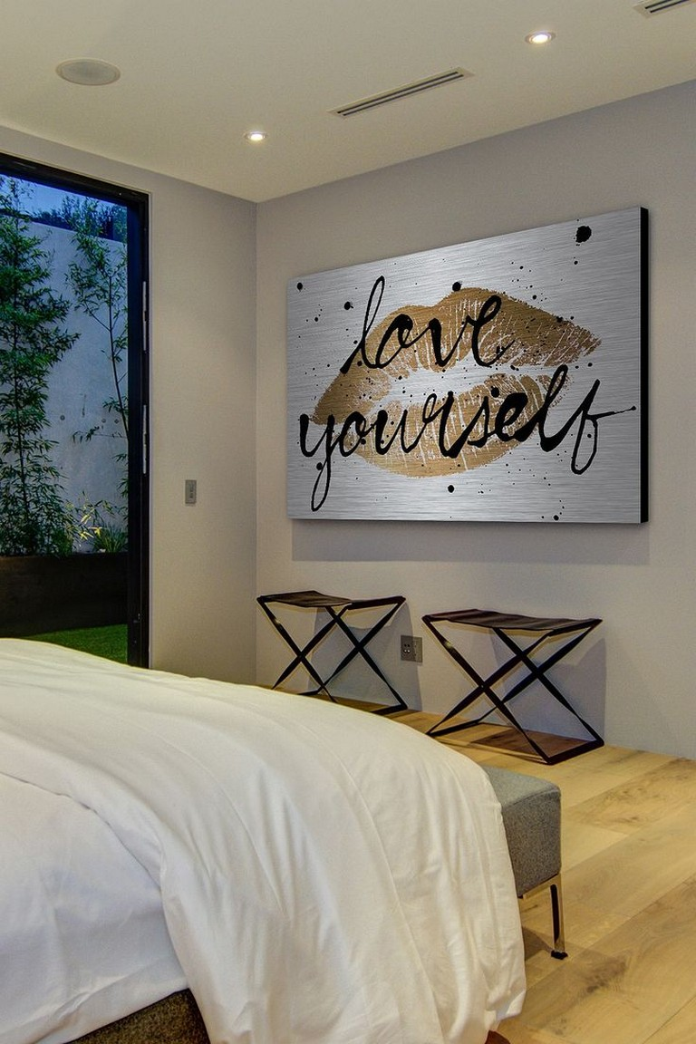 Silver Wall Decor For Bedroom