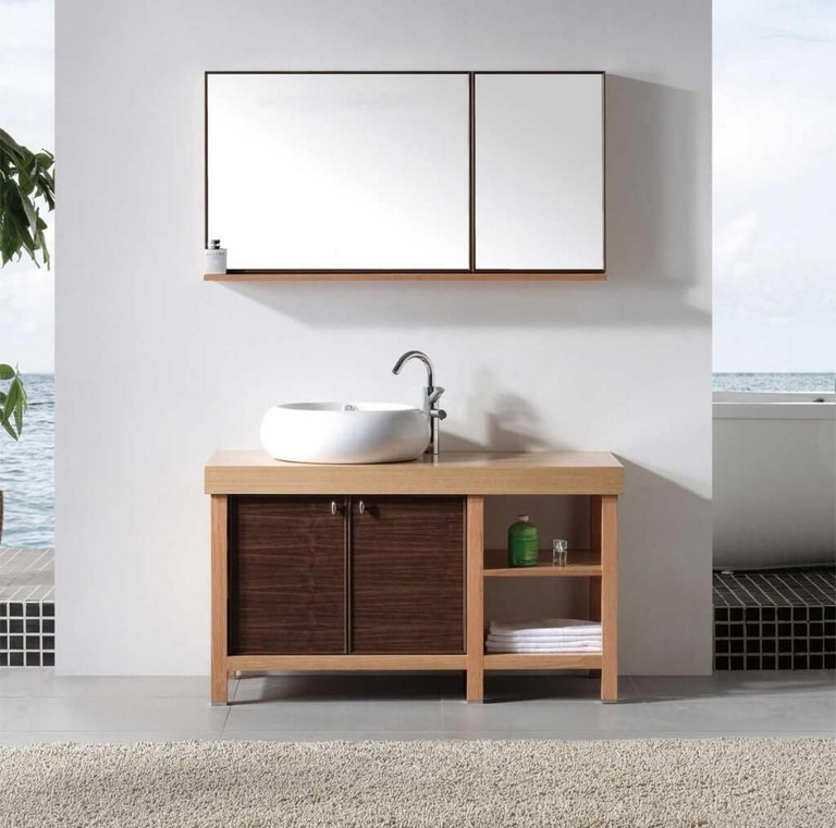 Solid Wood Bathroom Vanities Sale