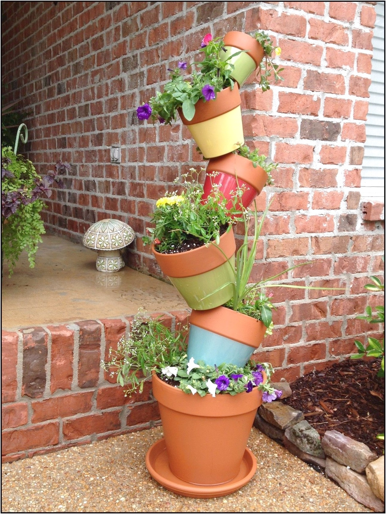 Stacking Planters Container Gardening
