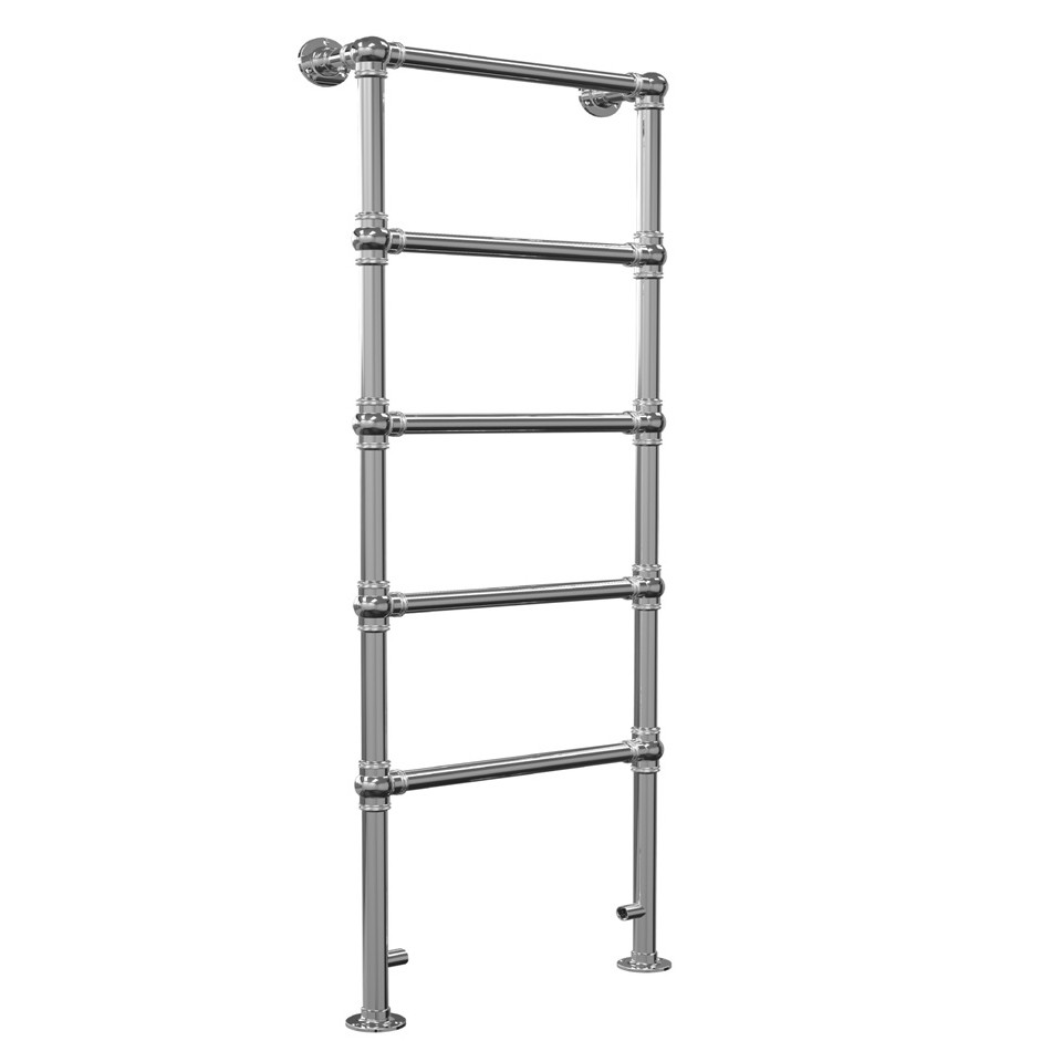Step Ladder With Rails