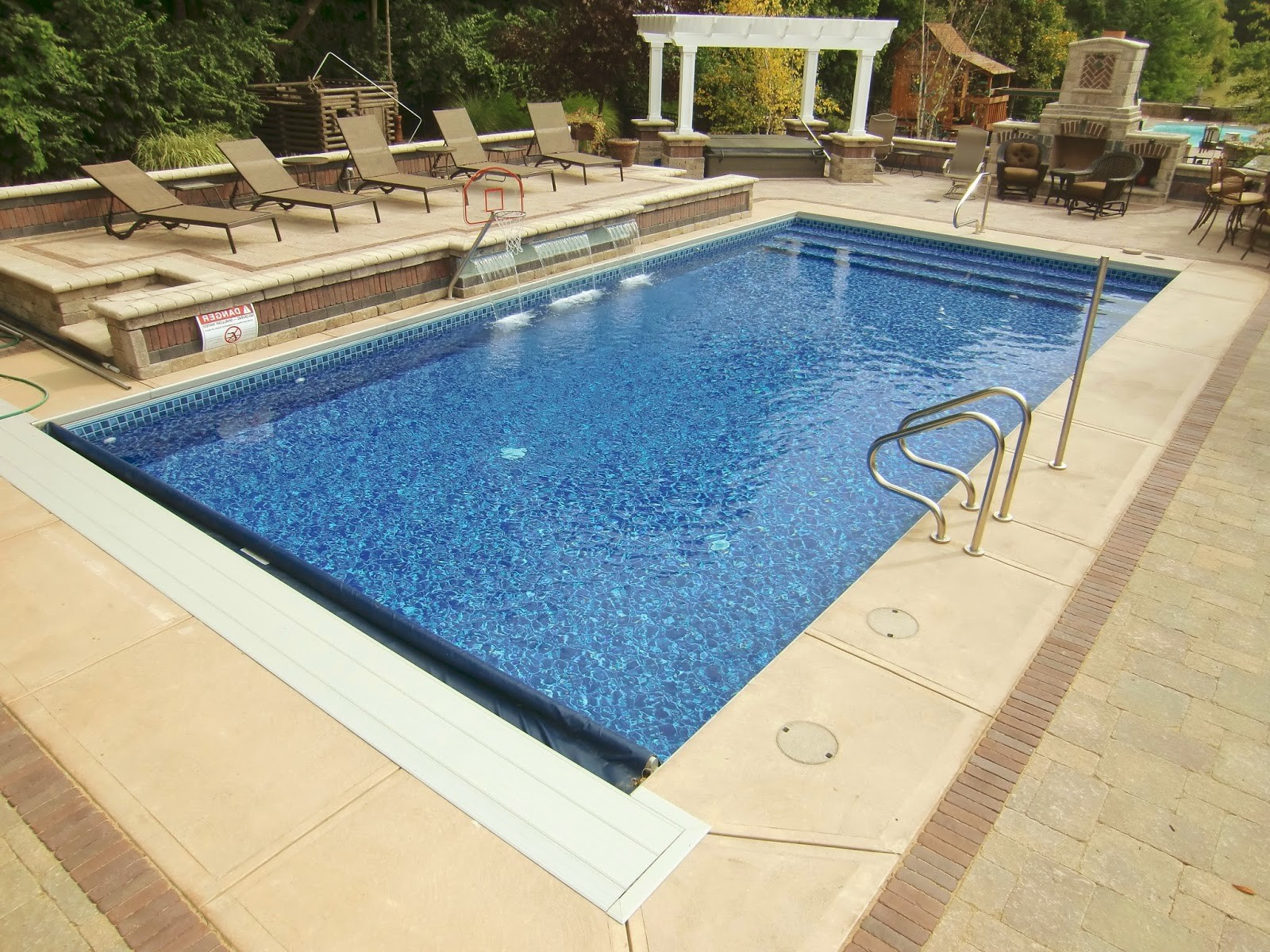 Steps For Inground Pool With Liner