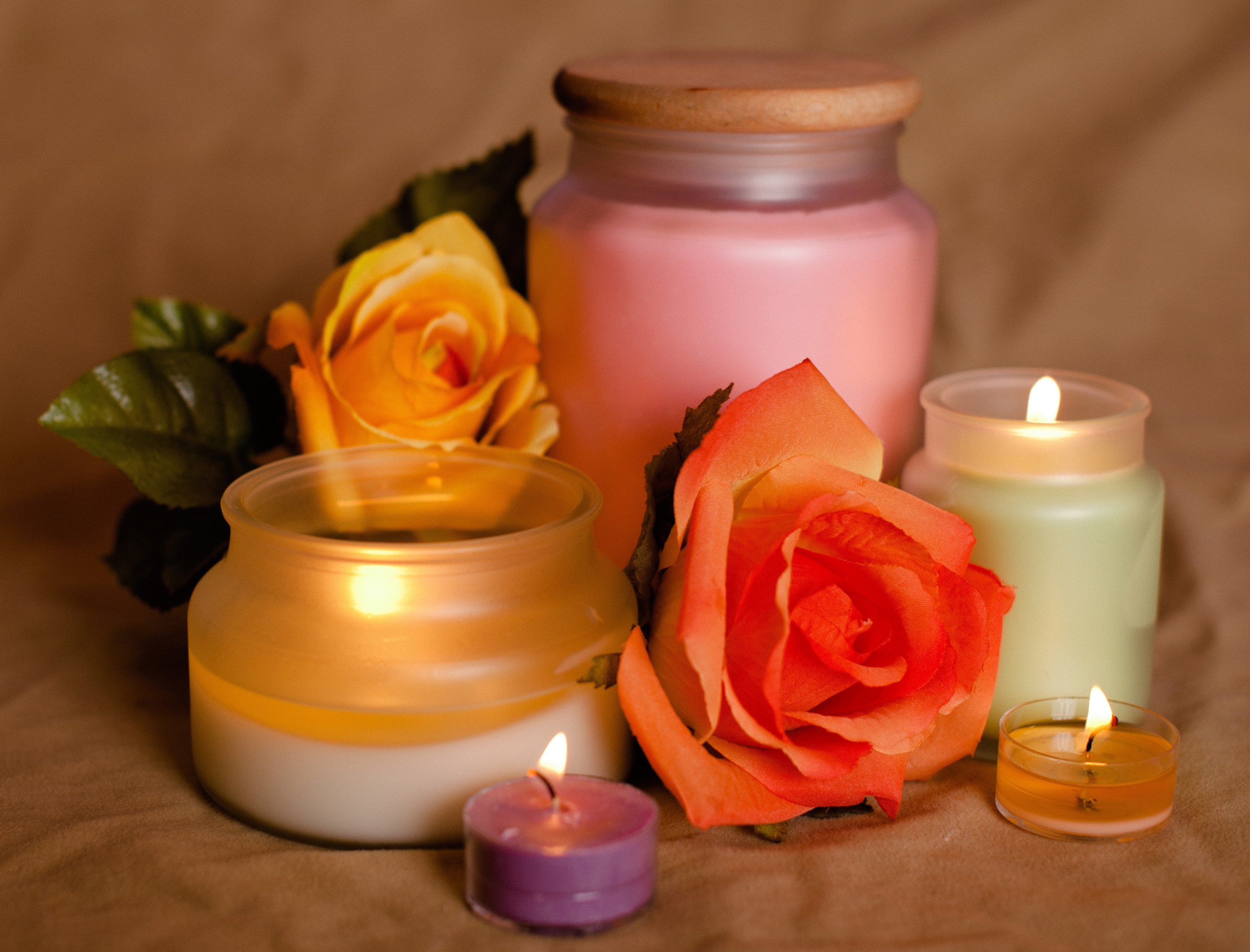 Super Strong Scented Candles