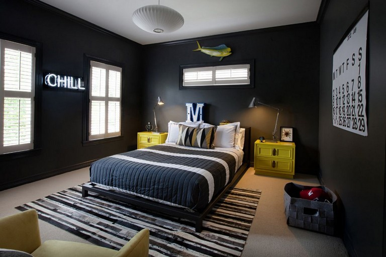 Teenager Boy Bedroom Designs