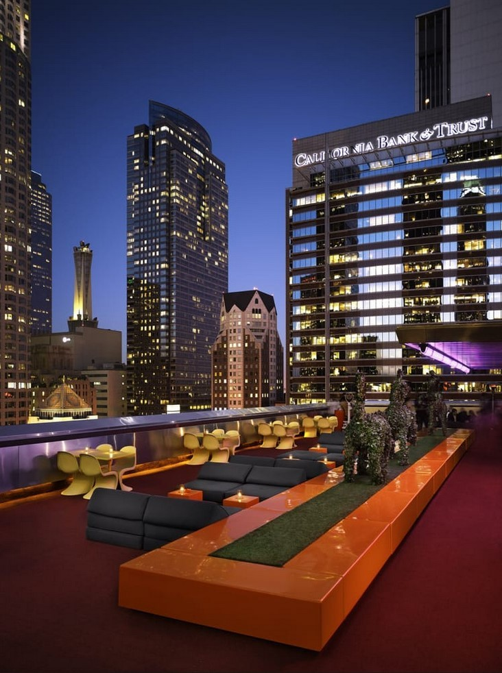 The Standard Downtown La Rooftop Bar