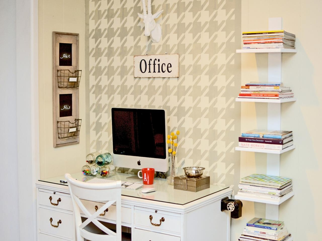 Wall Organization System For Home Office