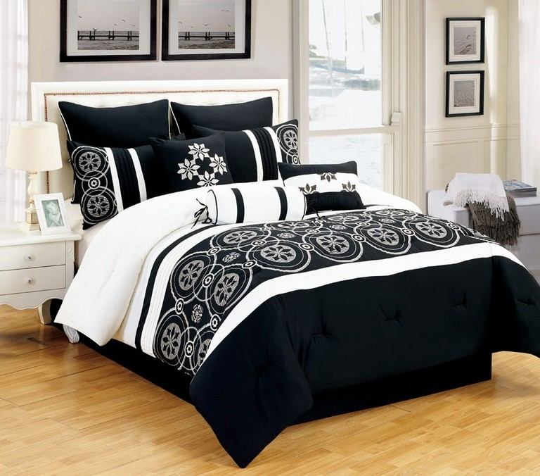 Black And White Bedding Sets Queen