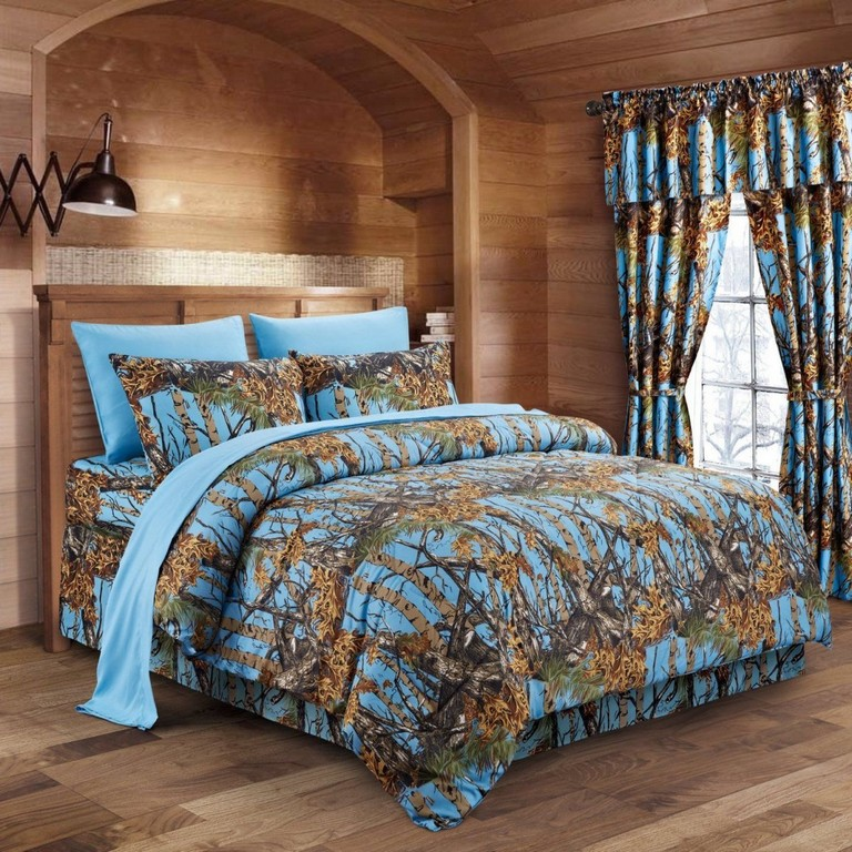 Blue Camo Bedding Sets