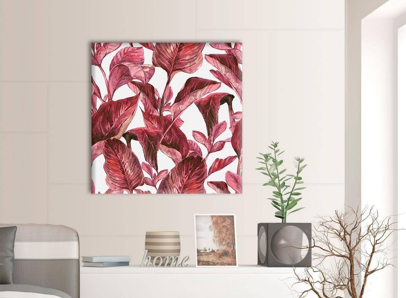 Burgundy Wall Art