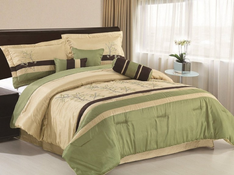 Green And Brown Bedding Sets
