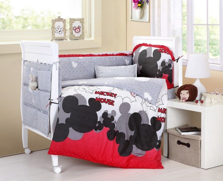 Mickey Mouse Baby Bedding Sets