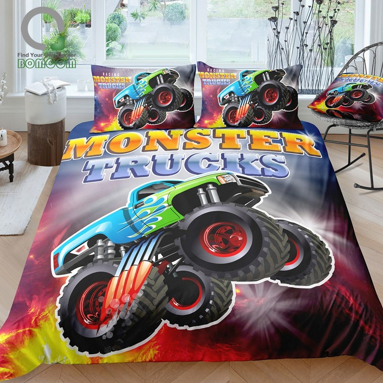 Monster Trucks Bedding Sets