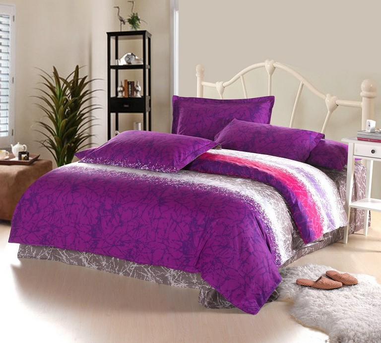 Purple And Blue Bedding Sets