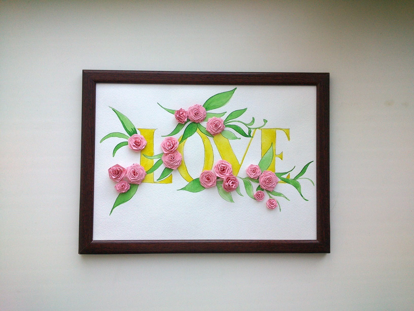Quilled Wall Art