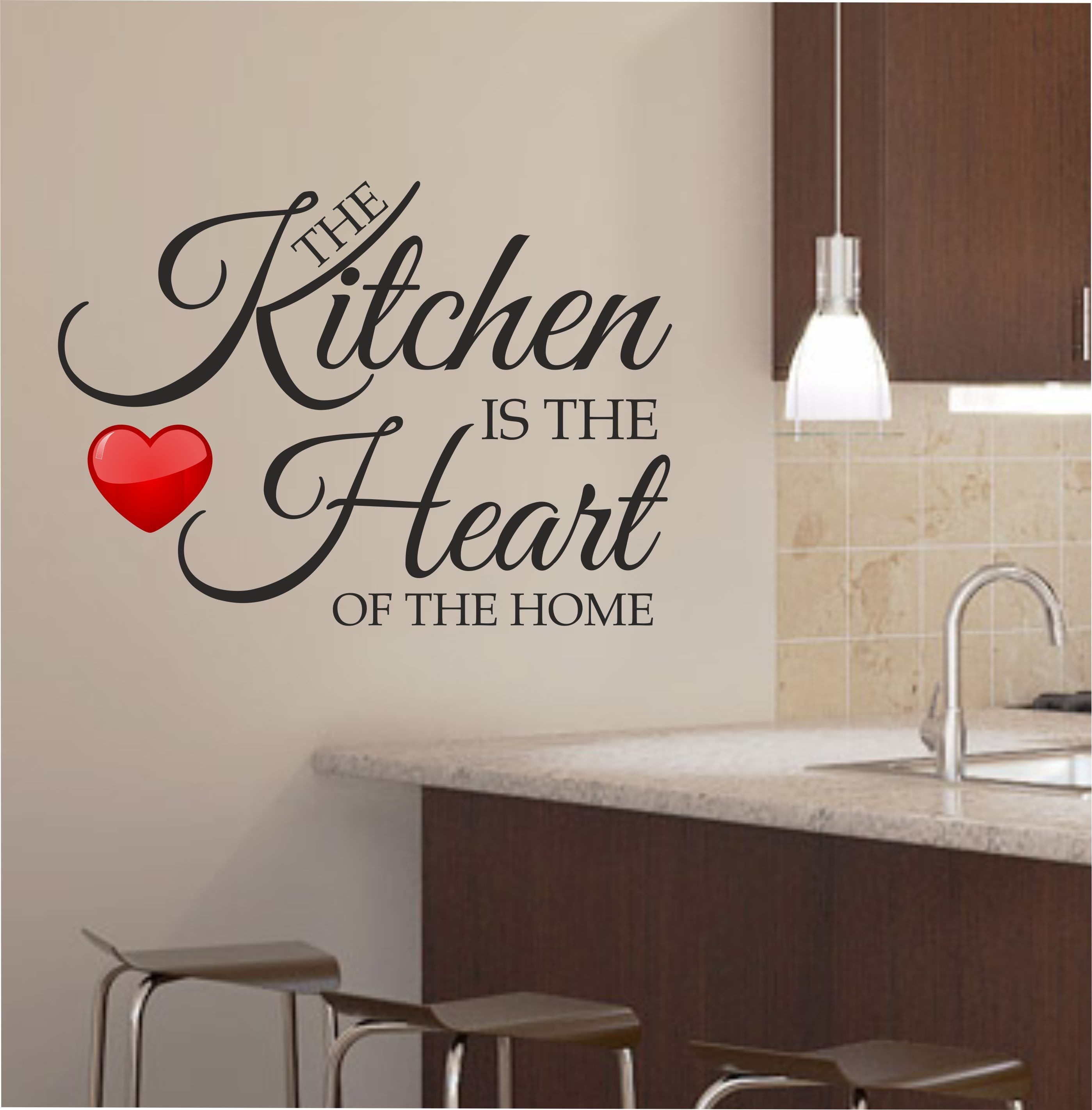 Red Kitchen Wall Art