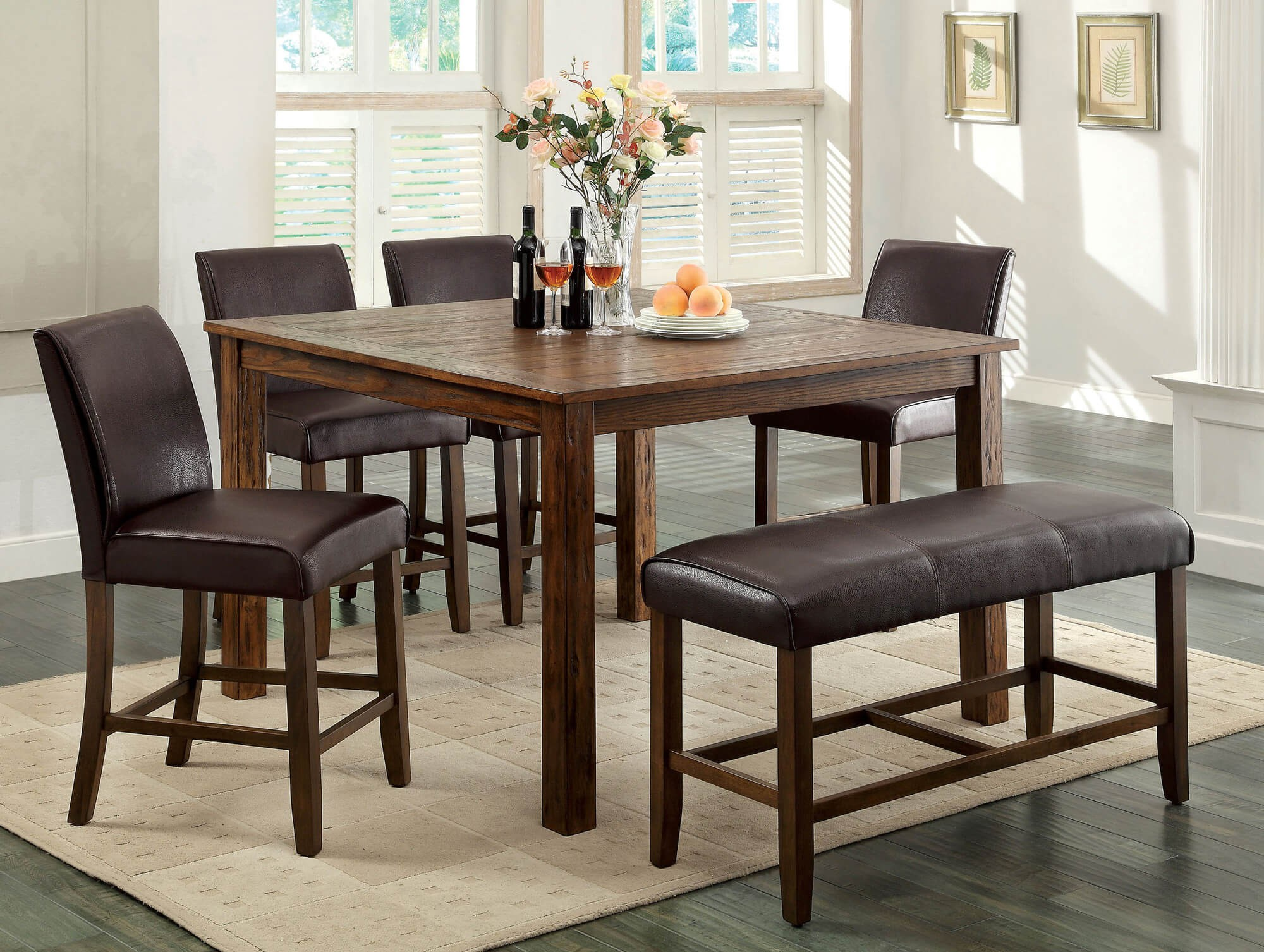 Round Dining Table Sets For 8