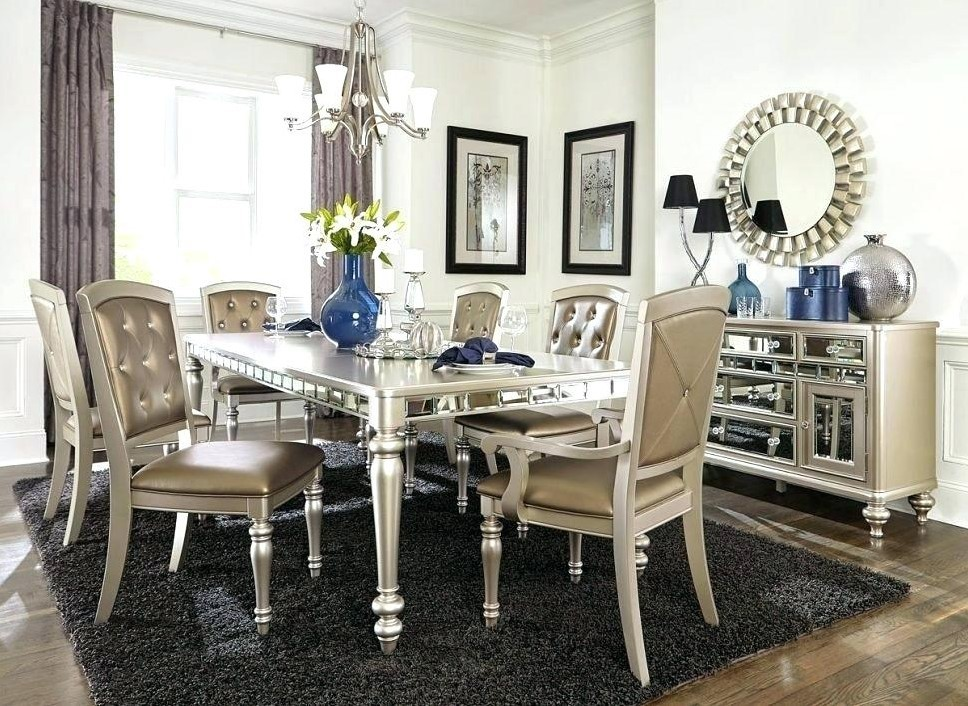 Silver Dining Room Sets