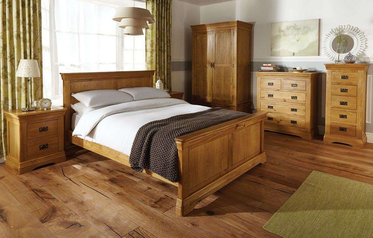 Solid Oak Bedroom Furniture Sets