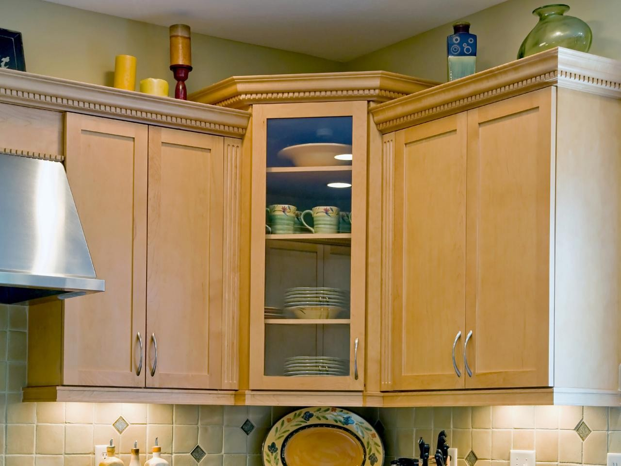Tall Corner Kitchen Cabinet