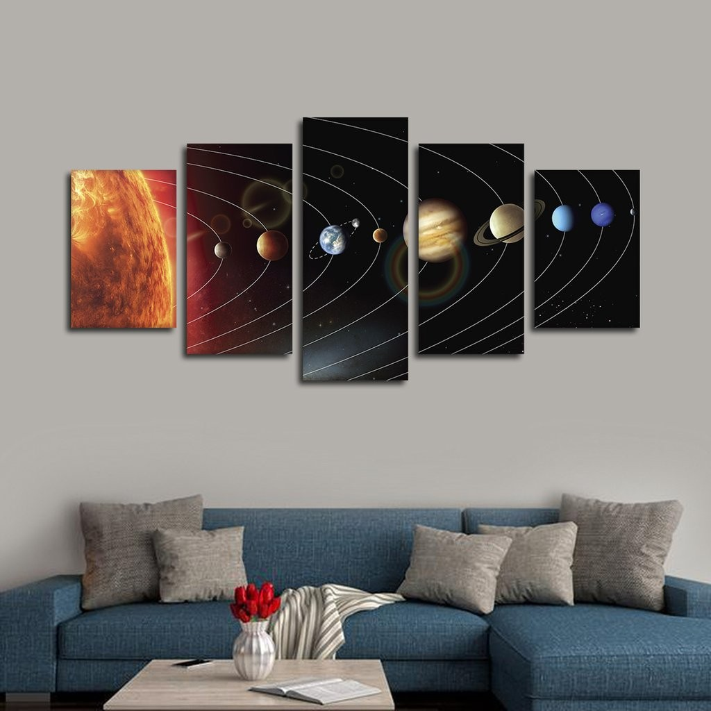 Three Panel Wall Art