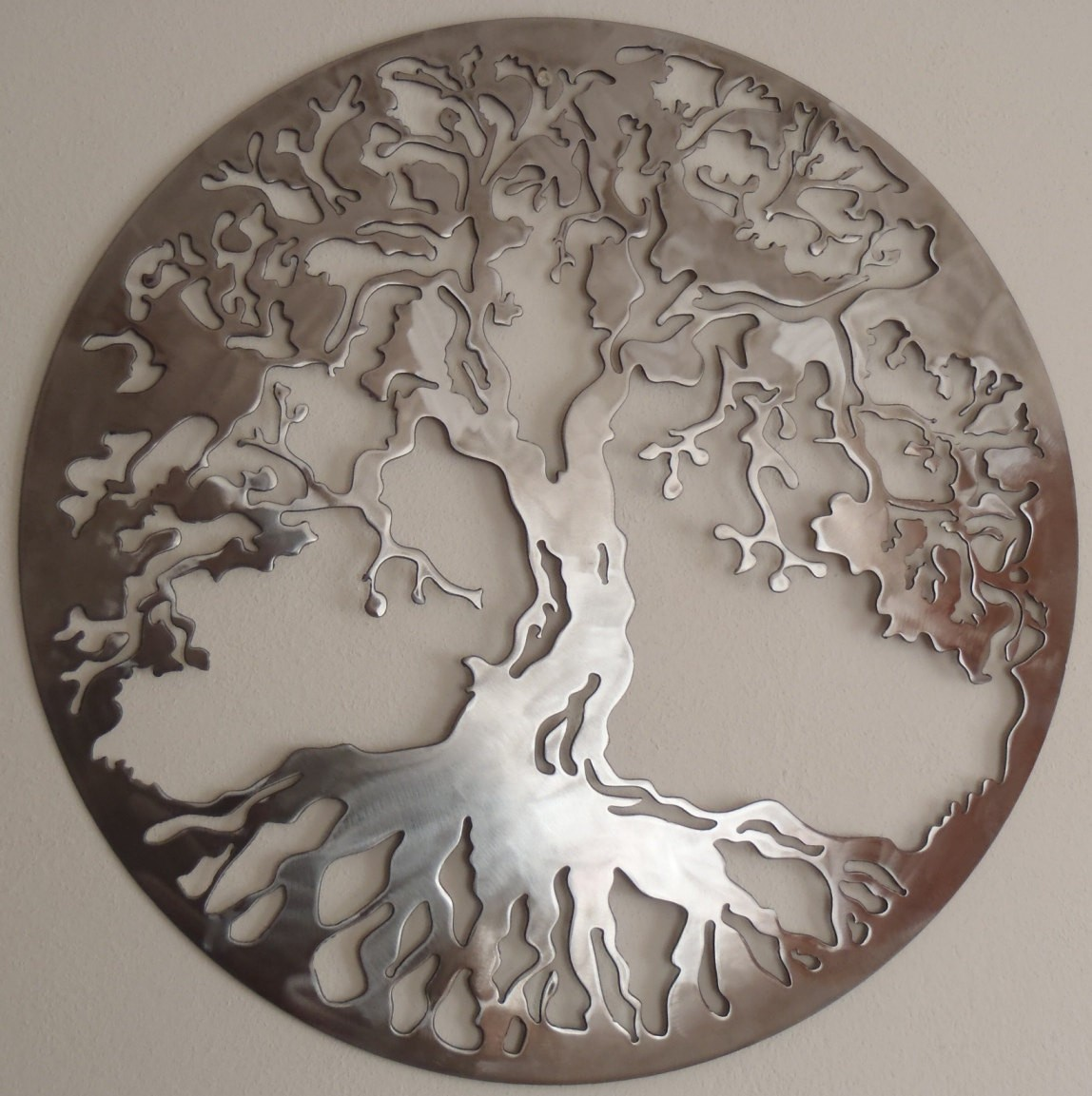 Tree Of Life Metal Wall Art Large